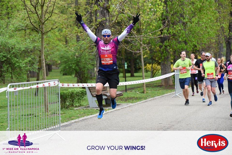 Grávuj Miklós Henrich - WizzAir Cluj-Napoca Marathon