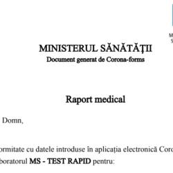 test antigenic rapid pentru virusul SARS-CoV-2